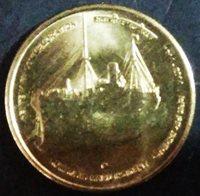 5 RUPEES 2014 N KOMAGATA MARU INCIDENT CENTENARY COMMEMORATION, UNC COIN