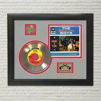 """Beach Boys """"Wouldn't It Be Nice"""" Framed 45 Picture Sleeve Record Display. """"M4"""""""