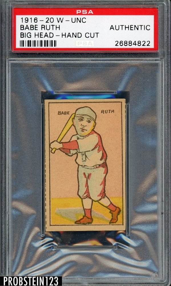 Ebay Auction Item 371868324127 Baseball Cards 1916 20 W Unc