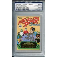 Martin Nodell Autographed 1992 DC Comic Card