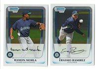 2010 Bowman Chrome Prospect Set 111-220