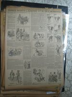 Newspaper Comics 1896 THINGS WORTH LAUGHING IN IDLE MOMENTS BILL NYE & SOX