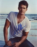 Matthew Morrison in-person autographed photo Great color photo autographed by this American actor known for Glee, Space Station 76, What to Expect When You're Expecting, and Dan in Real Life