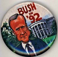 "1992 BUSH 2 1/4"" Pinback Button"