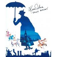 Mary Poppins movie photo signed Karen Dotrice