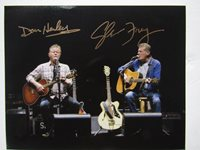 THE EAGLES Signed Photo