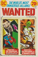 Wanted #9 Featuring Superman & Sandman, Very Fine Condition