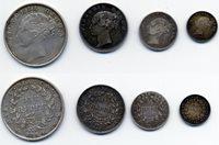 India, East India Company, Victoria (1837-1901), Rupee, Half-Rup...
