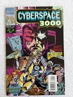 Cyberspace 3000 #1 (1993 Marvel UK LTD.) NM-