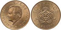 Pièce Monaco 10 Francs Rainier III - 25 ans de règne -1949-1974