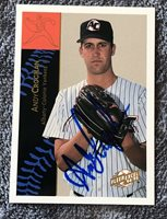 1994-95 Excel #92 Andy Croghan Auto Signed