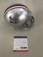 JK Dobbins Signed Autographed Mini Helmet Ohio State Buckeyes Psa/Dna