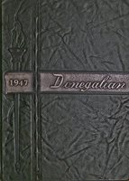 High School Yearbook Maytown PA East Donegal Township HS Donegalian 1947