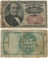 FR-1309 25 Cent Fifth Issue