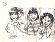 Gerry Gersten -- Original, Signed Pencil Sketch -- item # 1042 8x11 signed pencil work sketch
