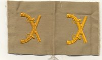 ML-1456 WWII / Korea US Army Officers Military Police Coth Insignia