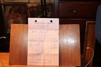 Vintage 1969 LaFollette Tennessee Receipt Valley Milling Company