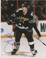 JOE NIEUWENDYK DALLAS STARS SIGNED 8x10 PHOTO w/ COA