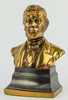 """Abraham Lincoln Bust Pennsylvania Metal Company 5"""" Bookend"""