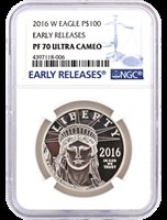 2016-W $100 Proof Platinum Eagle NGC PF70 UCAM Early Release