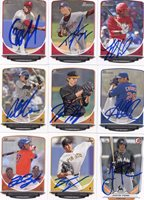 JP CRAWFORD SIGNED 2013 BOWMAN DRAFT PROSPECT ROOKIE CARD AUTO