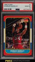 1986 Fleer Basketball Charles Barkley ROOKIE RC #7 PSA 10 GEM MINT (PWCC)