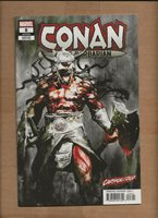 CONAN THE BARBARIAN #8 CARNAGE-IZED BILL SIENKIEWICZ VARIANT MARVEL