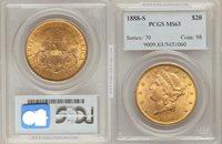 1888-S $20 Liberty MS63 PCGS