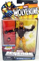 Wolverine Marvel Legends 6 Inch Action Figure Exclusive Series - Sabretooth