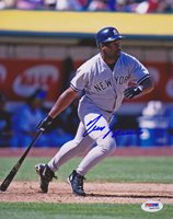 Tim Raines SIGNED 8x10 Photo New York Yankees ITP PSA/DNA AUTOGRAPHED
