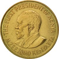 Kenya, 5 Cents, 1978, AU(50-53), Nickel-brass, KM:10