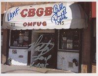 Johnny Thunders Heartbreakers SIGNED Photo + COA Lifetime Guarantee