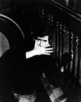 PSYCHO great 8x10 still ANTHONY PERKINS as Norman Bates -- c439
