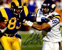 Autographed CARL LEE 8X10 Minnesota Vikings Photo