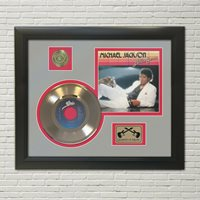 """Michael Jackson """"Billie Jean"""" Framed 45 Picture Sleeve Record Display. """"M4"""""""