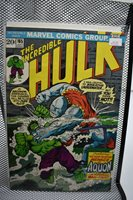 The Incredible Hulk #165 Marvel Comics 1973 Herb Trimpe Aquon the Man-Fish 8.5