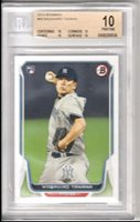 Masahiro Tanaka 2014 Bowman Rookie RC *POP 4* BGS 10 BLACK LABEL *NY YANKEES*
