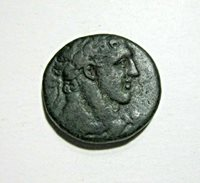 PHOENICIA,TYRE. SEMI-AUTONOMOUS, AE 24. TIME OF TRAJAN, C. 98-117 AD. MELQART.