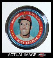 1971 Topps Coins # 126 Mike Epstein Washington Senators (Baseball Card) Dean's Cards 3 - VG