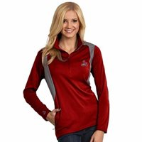 """NWT St Louis Cardinals Womens """"Delta"""" Pullover by Antigua - Red & Gray - XL"""