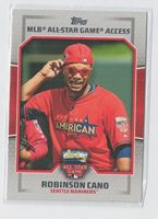 2014 TOPPS UPDATE ALL STAR ACCESS #RC ROBINSON CANO MARINERS MINT L@@K