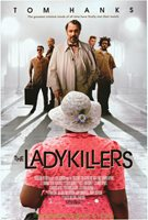 THE LADYKILLERS MOVIE POSTER Original DS 27x40 TOM HANKS Coen Brothers 2004 Film