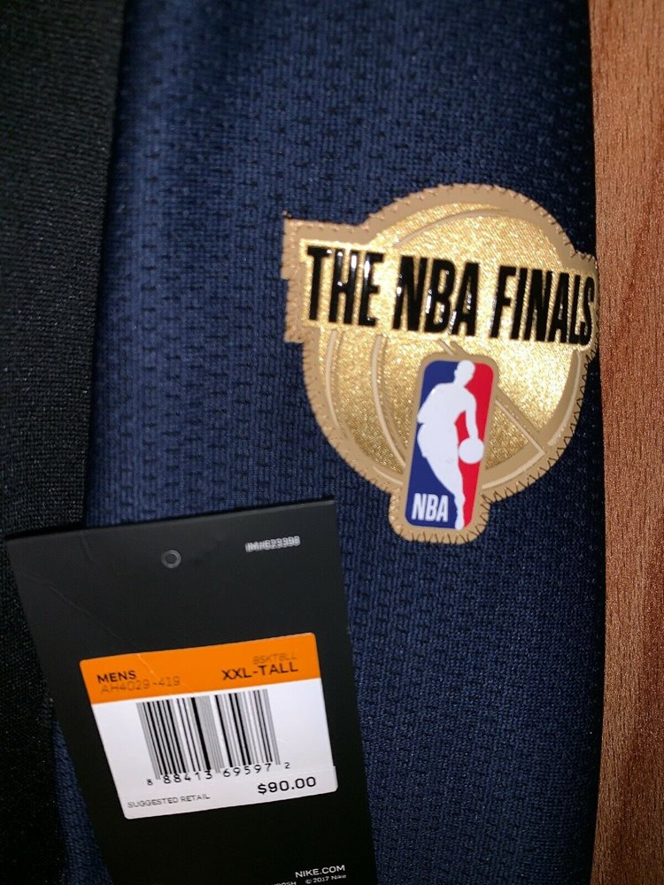 bb44c15bbb67 Nike NBA Finals Dry Top Long Sleeve Shirt Size 2XL/Tall