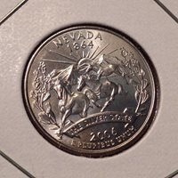2006 P or D Nevada Uncirculated 50 States Quarter Get 5th Free