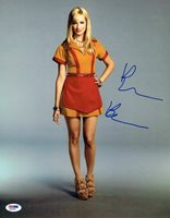 Beth Behrs Signed 2 Broke Girls Autographed 11x14 Photo PSA/DNA #Q31983