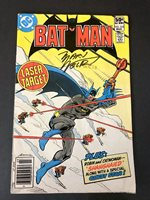 Batman #333 (1981) The China Syndrome! SIGNED BY Marv Wolfman! VG/FN
