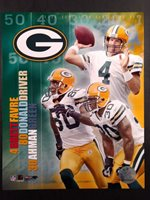 2005 GREEN BAY PACKERS BIG THREE 8x10 Photo FAVRE Driver GREEN