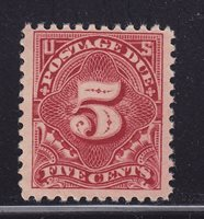 J64 VF original gum mint never hinged with nice color cv $ 35 ! see pic !