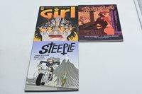 3 Book LOT - Girl, Steeple & Ruby Falls - FREE FAST SHIP