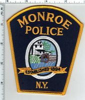 Monroe Police (New York) Current Issue Shoulder Patch